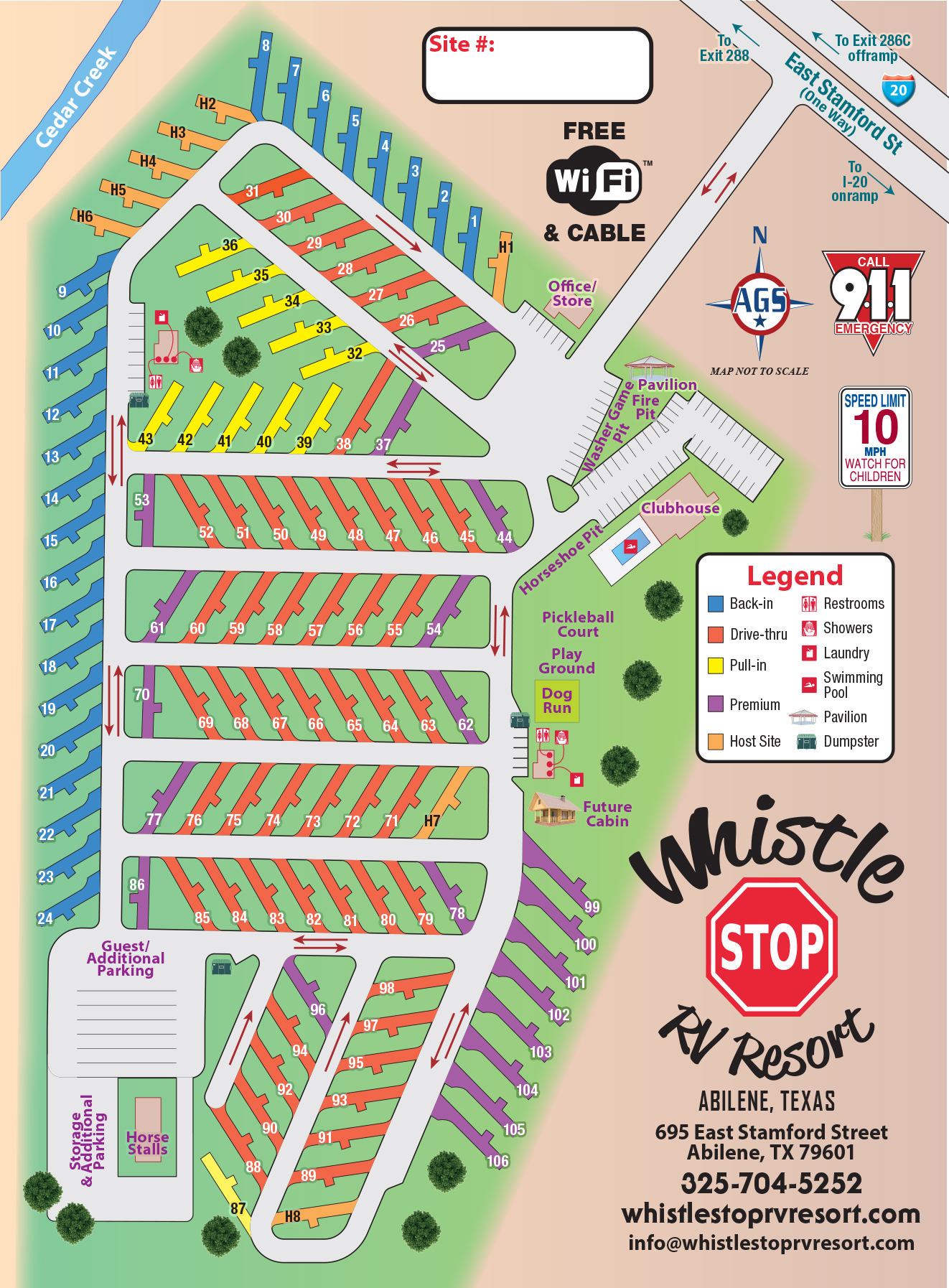Site Map - 2018